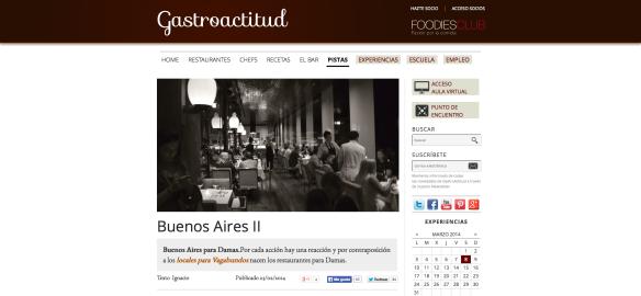 Buenos Aires para damas y vagabundos